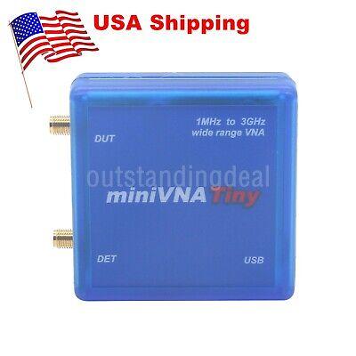 Minivna Tiny 1m-3ghz Vector Network Analyzer Vna Signal Generator Swrs Us