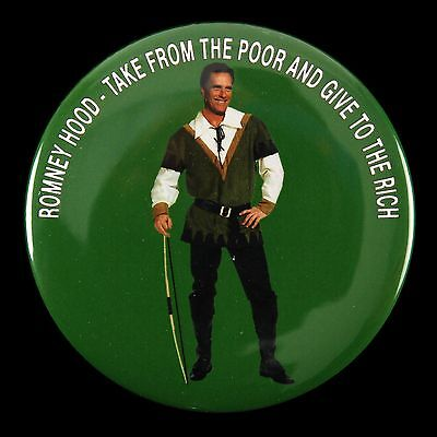 2012 Take From The Poor Give to The Rich Mitt Romney Hood 3