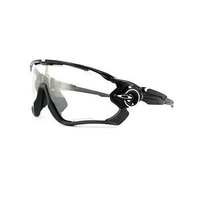 Oakley Gafas de Sol Jawbreaker OO9290-14 Negro Pulido Negro Claro Fotocromático