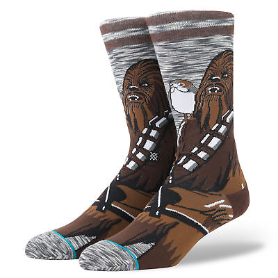 STANCE STAR WARS CHEWIE PAL Socks New! Return of Jedi Luke Skywalker hope