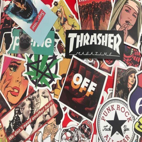 300pcs Mix Lot Stickers for Skateboar Graffiti Laptop Sticker Luggage Car Decals