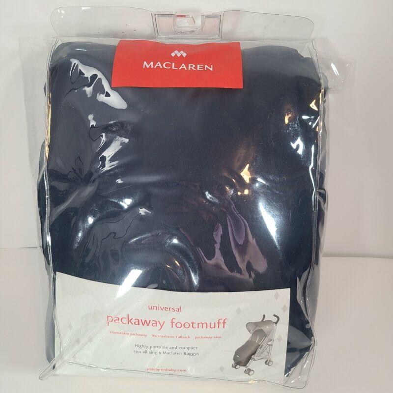 Maclaren UK Universal Packaway Footmuff Stroller Pushchair Accessory Navy Blue