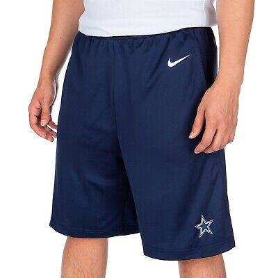 New Dallas Cowboys NFL Football Nike Dri-Fit Shorts Navy Blue Men sizes NWT Dallas Cowboys Football Shorts