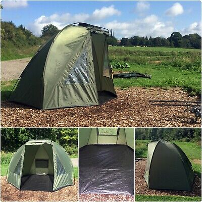 Quest Shelter MK3 Carp Fishing Bivvy 1 Man Overnight Shelter Tackle Brolly 2
