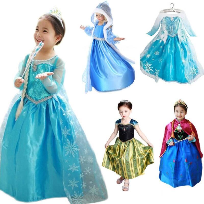 Girls Kids Cartoon Crown Princess Dress Fancy Dress Queen Cosplay Costume New Ebay Find & download free graphic resources for crown cartoon. ebay
