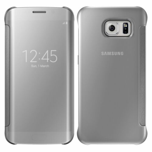 Flip Clear View Mirror Case Cover For Samsung Galaxy S6 S7 Edge Iphone 6 6s Plus