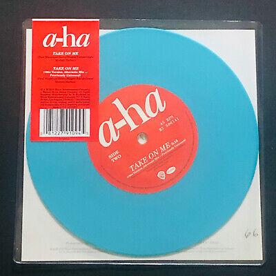 "a-ha Take On Me Sealed 7"" BLUE COLOURED Vinyl"