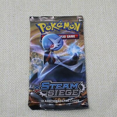 Pokemon Steam Siege 1 Sealed Booster Pack XY Trading cards