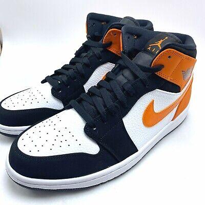 Nike Air Jordan 1 MID Shattered Backboard Men's Shoes 554724-058