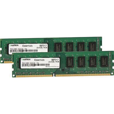 Mushkin DIMM 16 GB DDR3-1333 Kit, Arbeitsspeicher - 1333 Kit