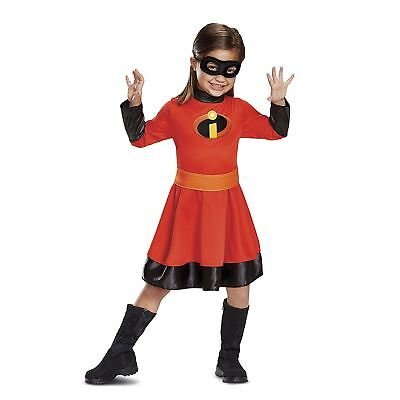 Disney Violet Incredibles Halloween Costume Dress Toddler Child S M L 2T 3T 4-6X