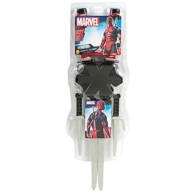 Deadpool Classic Costume (Rubie's Marvel Classic Deadpool Weapon Costume Accessory)
