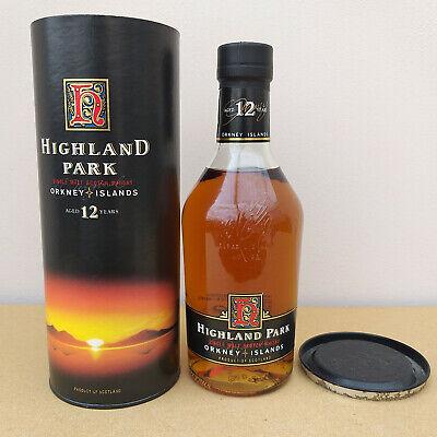 Highland Park 12 Years Orkney Islands Single Malt Scotch Whisky 40% Scotland OVP