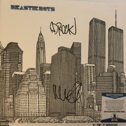 Beastie Boys Signed Vinyl To The 5 Boroughs with Beckett Cert