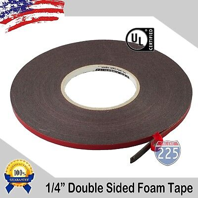 14 Wide Double Sided Acrylic Foam High Strength Adhesive Tape 60 Foot Roll Usa