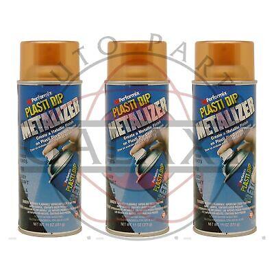 Performix 11236 Plasti Dip Metalizer Copper- X3 11 Oz. Spray Can