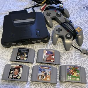 N64 with 5 Games!