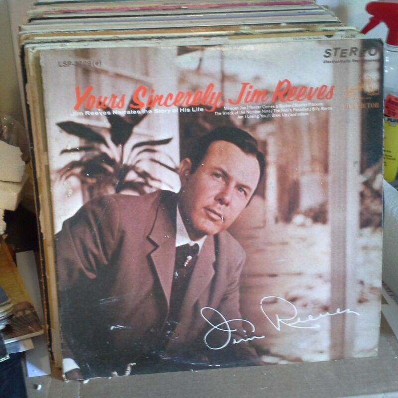 Jim Reeves RCA Victor LP LSP-3709 (e) Yours Sincerely, Jim Reeves