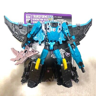 Transformers Generations Selects Exclusive Seacon Kraken aka Seawing C9+ 100%!