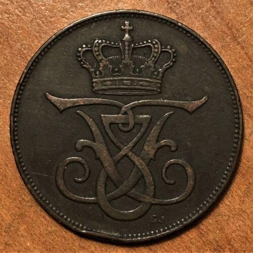 1912(h) VBP; GJ Denmark 5 Ore Frederik VIII KM# 806 XF