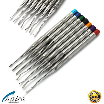 7 Root Elevator Luxating Pdl Dental Instruments Implant Surgical Natra