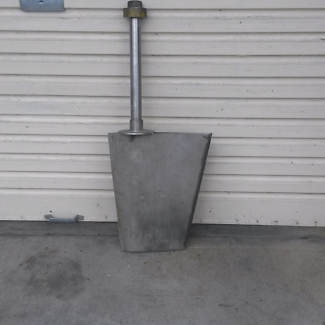 Stainless Steel Rudder