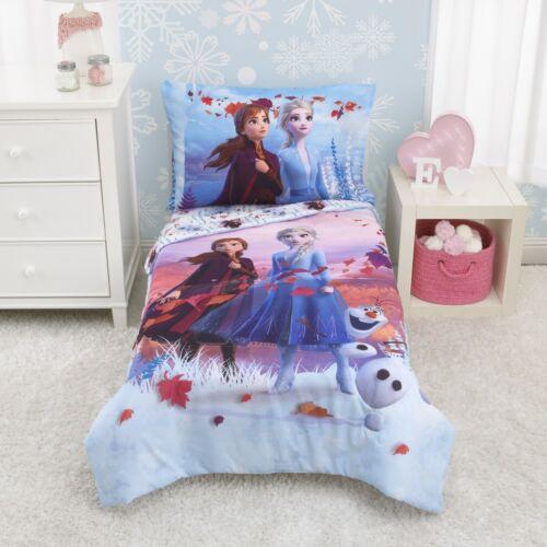 Frozen II 4-Piece Magical Journey Baby Toddler Bedding Set NWOT