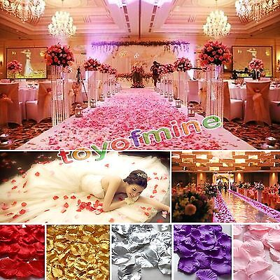 200/1000pcs Various Colors Silk Flower Rose Petals ...