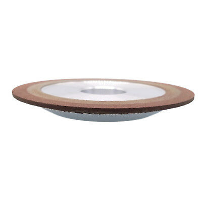 Us Stock 75mm One Tapered Side Plain Diamond Saw Blade Grinding Wheel 150 Grit