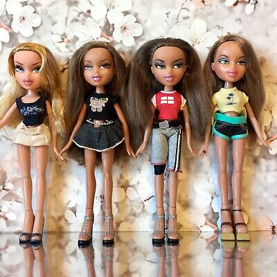 Bratz Doll Bundle Wintertime Yasmin Summer Spa Fianna P4F Fashion Run Way Cloe