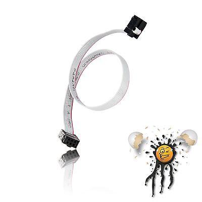 Flachbandkabel / Ribbon Cable 6 polig / core FC6P IDC Buchse / Socket 300 mm