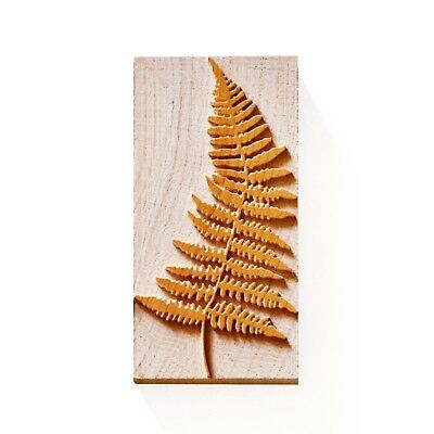 Letterpress Fern Leaf - Wood Type 12 Line 508 Mm - 1 Piece