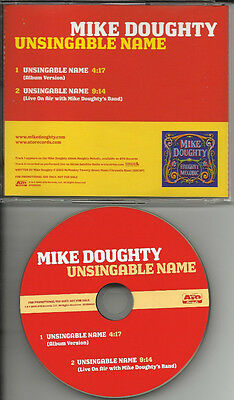 Soul Coughing Mike Doughty Unsingable Name 9 Minute Live Trk Promo Dj Cd Single