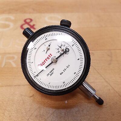 Starett 25-511 Dial Indicator Gauge .200-.0001 Range - Used