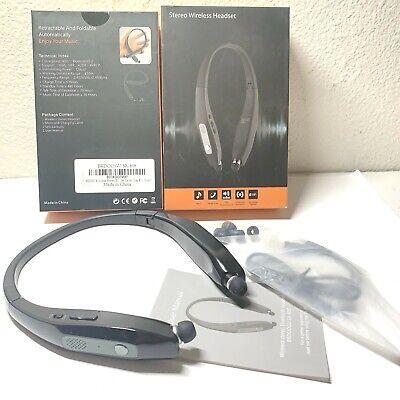 GENTLY USED BRDOOGU Wireless Stereo Bluetooth Headphones, Bluetooth 5.0 SX-808