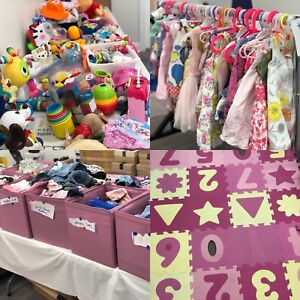 0-3 years clothing and toy charity pop up sale