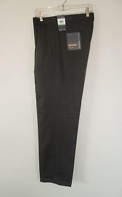 Ellis Twist (nw~Perry Ellis NEO LUXE PINSTRIPE Suit Dress Pant~PREMIUM Hi-TWIST~Trouser~34/32)