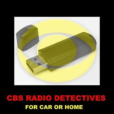 6a6d209f368c39 ENJOY CBS' BEST OLD TIME RADIO DETECTIVES IN YOUR CAR OR AT HOME. 1183  SHOWS!
