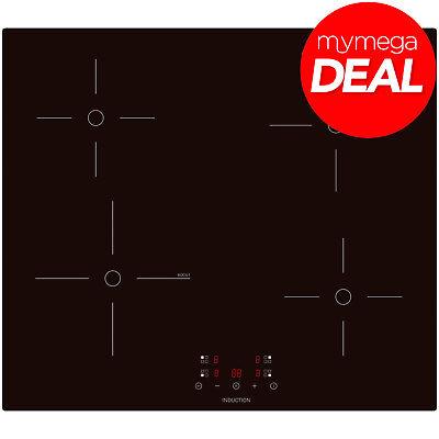 MyAppliances REF29133 60cm 60cm Black Touch Control Boost Induction Hob