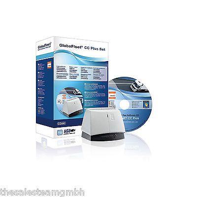 GloboFleet CC Plus Set - LKW Fahrerkarte auslesen + Verstoßauswertung