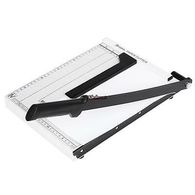 Heavy Duty Guillotine Paper Cutter 12 Commercial A4 Cutting Trimmer Home Office