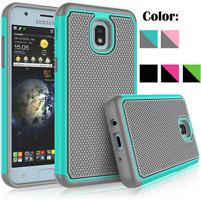 For Samsung Galaxy J3 Achieve Star Orbit Aura Phone Case With Screen Protector