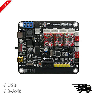 Grbl Laser Controller Board 3-axis Stepper Motor Usb Driver Laser Engraving