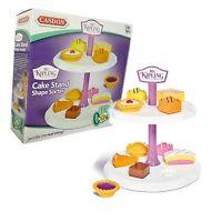Mr Kipling Toy Cake Stand Shape Sorter With Toy Cakes Boxed - casdon - ebay.co.uk
