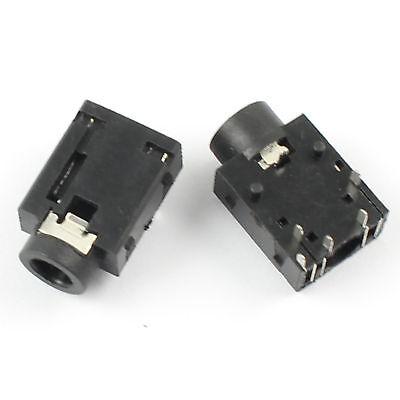 10Pcs 3.5mm Audio ConnectorFemale 6 Pin DIP Stereo Phone Jack PJ3053