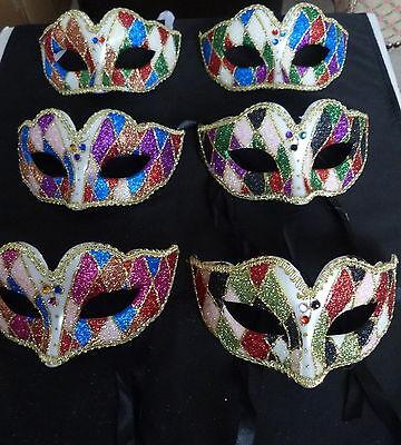 Maskerade Karneval Bunt Augen Maske Kostüm Junggesellinnenabschied & - Maskerade Kostüm Herren