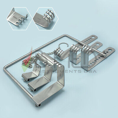 Or Grade Charnley Initial Incision Retractor With Blades Surgical Instruments