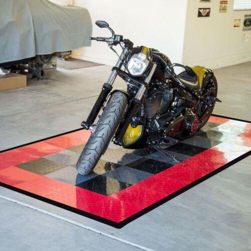 FlooringInc Diamond Nitro Tile | Motorcycle Mats