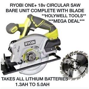 Ryobi 18v circular saw ebay ryobi 18v cordless circular saw body only 0ne rwsl1801 150mm blade included greentooth Choice Image