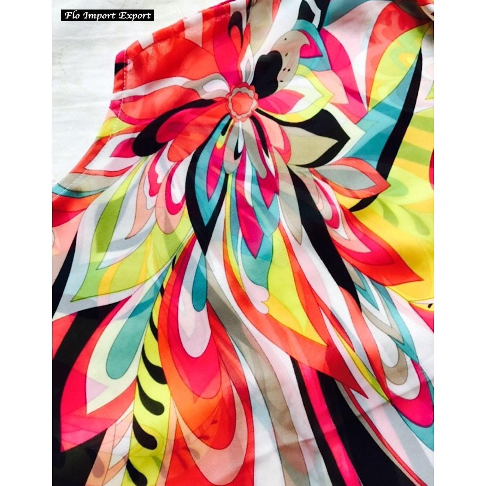 a4a6a69bb49dd https   www.ebay.it itm Vestito-Caftano-Copricostume-Donna-Woman -Colourful-Cover-Up-Kaftan-Dress-COV0039- 322580210530